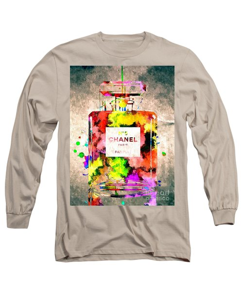 Chanel No 5 Grunge Long Sleeve T-Shirt