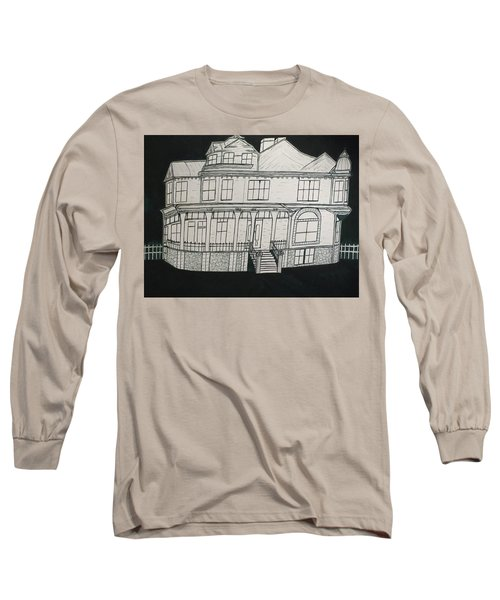 Charles A. Spies Historical Menominee Home. Long Sleeve T-Shirt by Jonathon Hansen