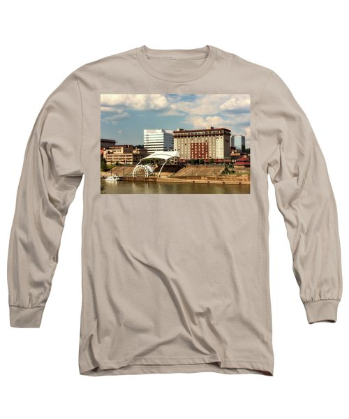 Charleston West Virginia Long Sleeve T-Shirt by L O C