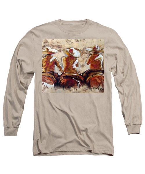 3 . C H A R R O  . F R I E N D S Long Sleeve T-Shirt