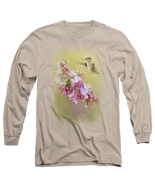 Chasing Lilacs Long Sleeve T-Shirt by Jai Johnson