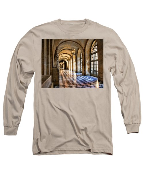 Chateau Versailles Interior Hallway Architecture  Long Sleeve T-Shirt