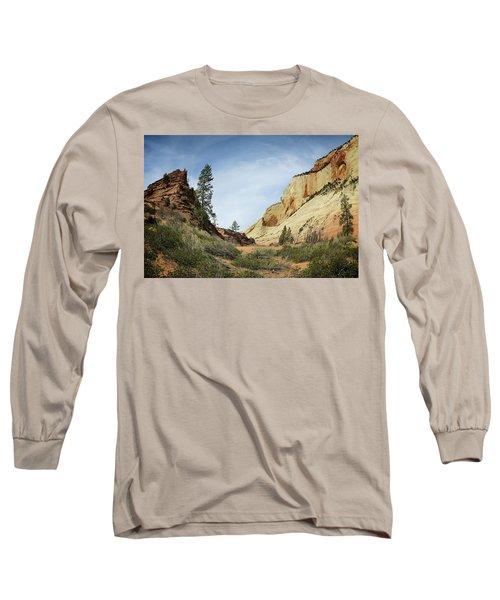 Checkerboard Mesa Long Sleeve T-Shirt