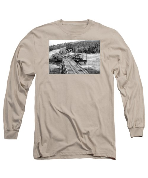Checking The Rails Long Sleeve T-Shirt