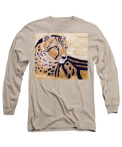 Cheeta Long Sleeve T-Shirt