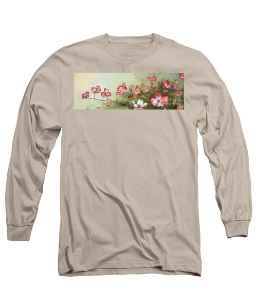 Cherokee Dogwood - Brave- Blushing Long Sleeve T-Shirt