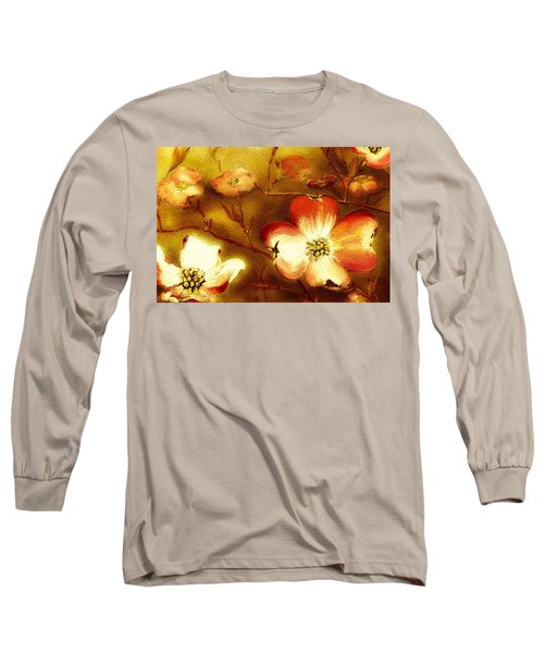 Cherokee Rose Dogwood - Glow Long Sleeve T-Shirt
