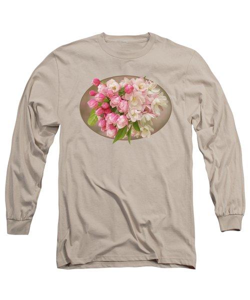 Cherry Blossom Bouquet Long Sleeve T-Shirt