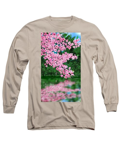 Cherry Reflection Long Sleeve T-Shirt