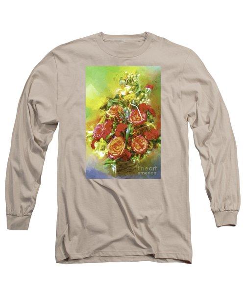 Cheryls Bouquet Long Sleeve T-Shirt