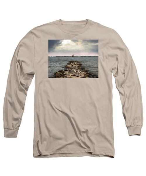 Chesapeake Bay Lighthouse Long Sleeve T-Shirt
