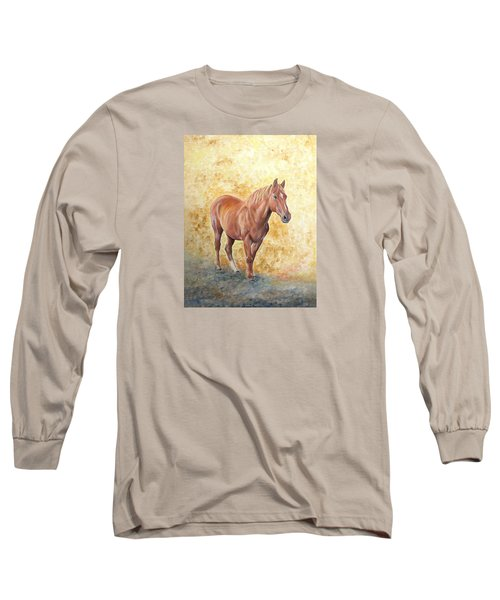 Chestnut Racehose Long Sleeve T-Shirt