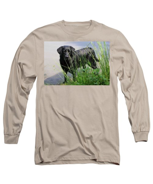 Long Sleeve T-Shirt featuring the photograph Chicago 0121 by Guy Whiteley