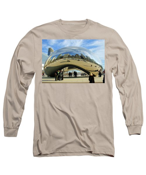 Chicago Reflected Long Sleeve T-Shirt by Kristin Elmquist