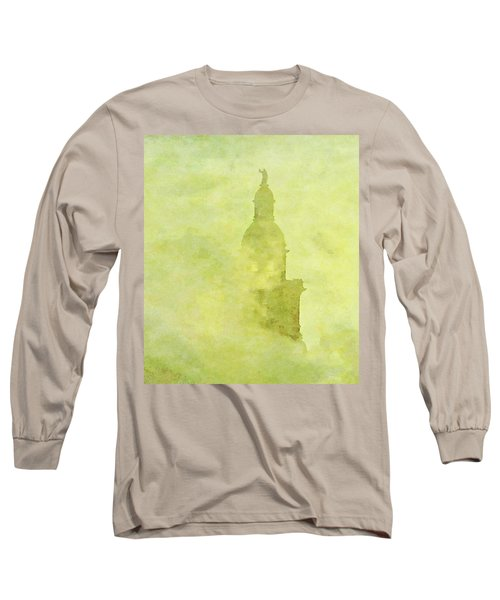 Chicago Steeple Long Sleeve T-Shirt