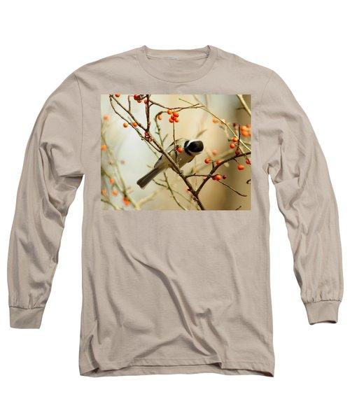 Chickadee 1 Of 2 Long Sleeve T-Shirt