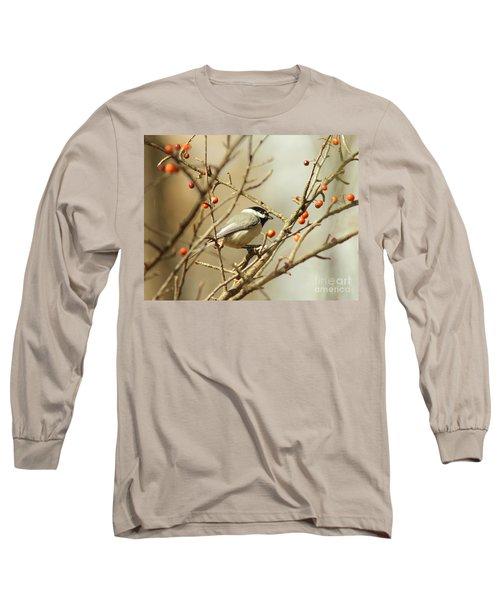 Chickadee 2 Of 2 Long Sleeve T-Shirt