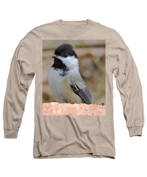 Chickadee's Winter Reverie Long Sleeve T-Shirt