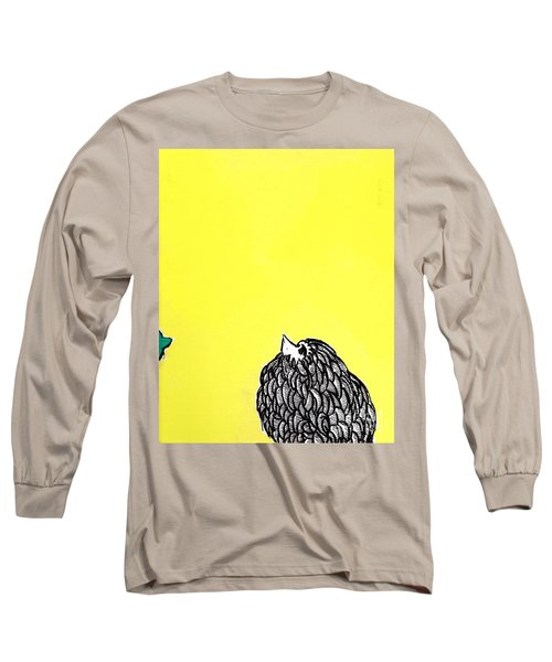 Chickens Four Long Sleeve T-Shirt