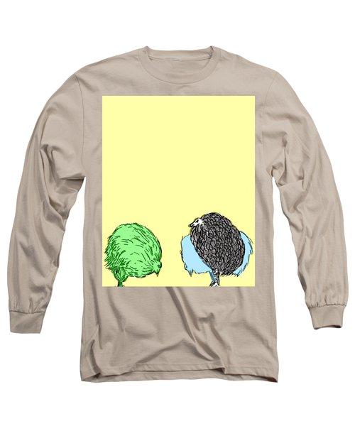 Chickens Three Long Sleeve T-Shirt