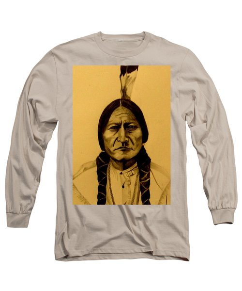Chief Sitting Bull  Tatanka Iyotake Long Sleeve T-Shirt