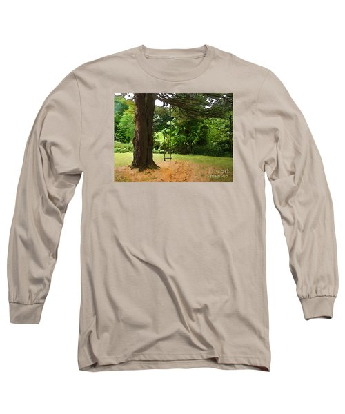 Long Sleeve T-Shirt featuring the photograph Childhood by Betsy Zimmerli