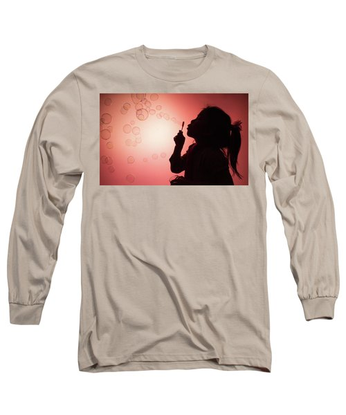 Childhood Days Long Sleeve T-Shirt by William Lee