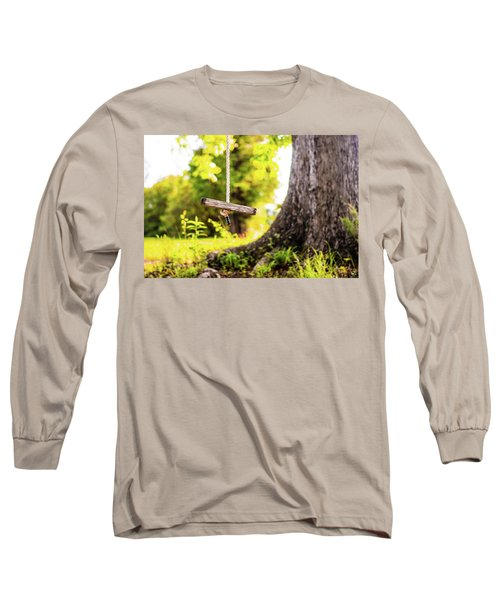 Long Sleeve T-Shirt featuring the photograph Childhood Memories by Shelby Young