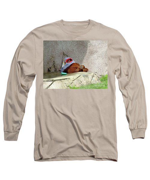 Chilling Out Long Sleeve T-Shirt