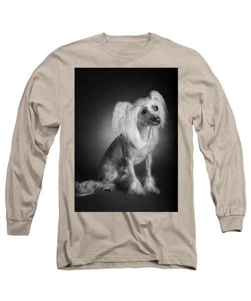 Chinese Crested - 03 Long Sleeve T-Shirt by Larry Carr