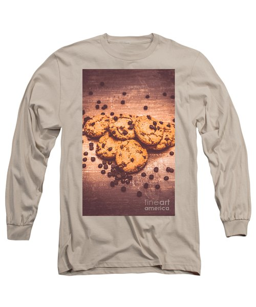 Choc Chip Biscuits Long Sleeve T-Shirt