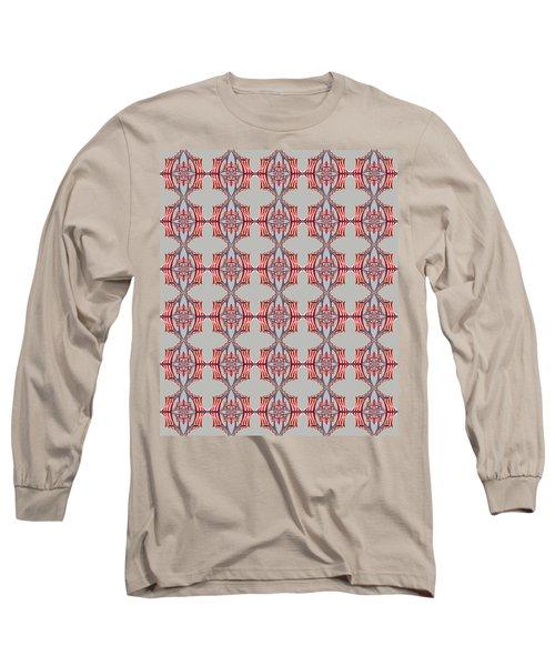 Chock A Block Grey Long Sleeve T-Shirt