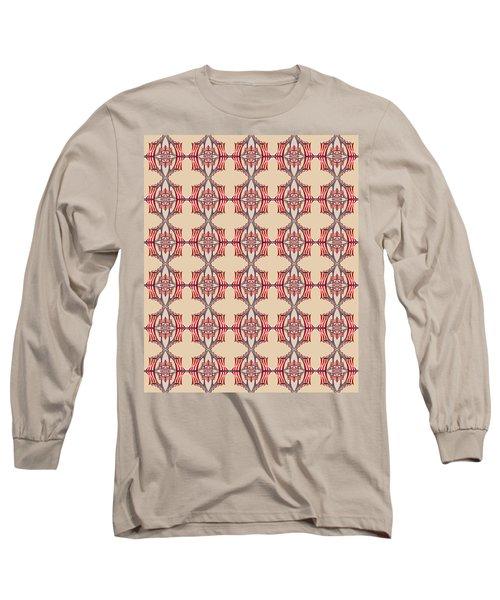 Chock A Block Beige Long Sleeve T-Shirt