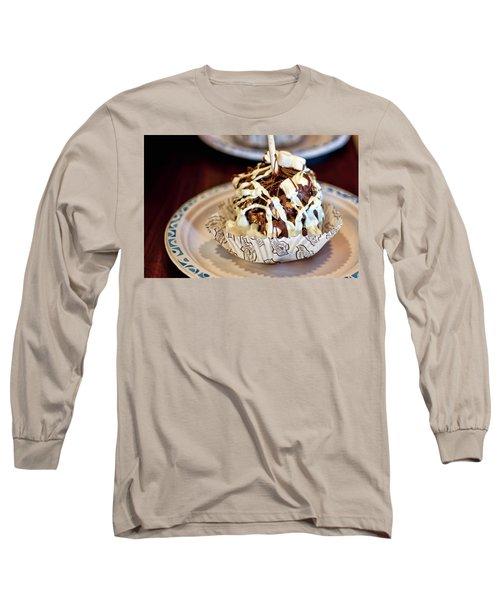 Chocolate Caramel Apple Long Sleeve T-Shirt