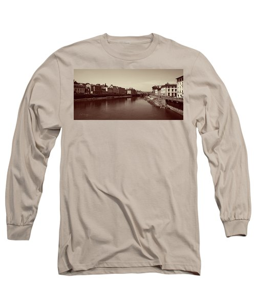 Chocolate Florence Long Sleeve T-Shirt by Joseph Westrupp