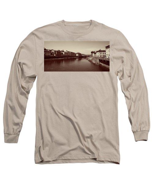 Chocolate Florence Long Sleeve T-Shirt
