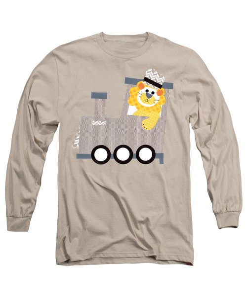 Choo Choo T-shirt Long Sleeve T-Shirt by Herb Strobino