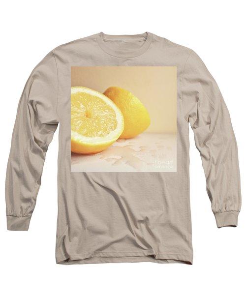 Chopped Lemon Long Sleeve T-Shirt