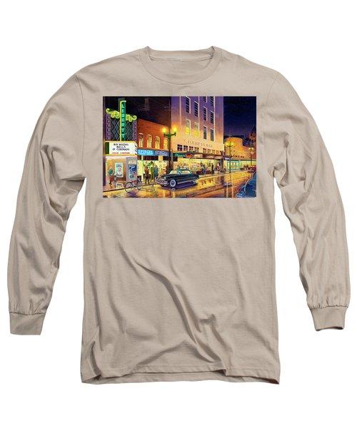 Christmas Corner Long Sleeve T-Shirt
