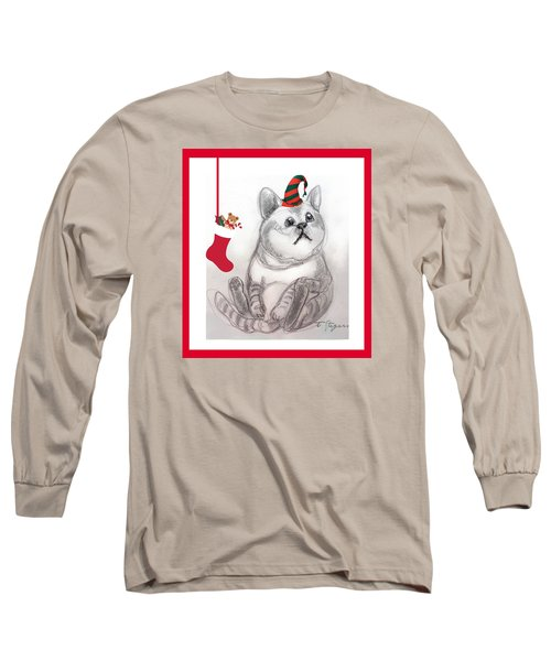 Christmas Kitty Long Sleeve T-Shirt