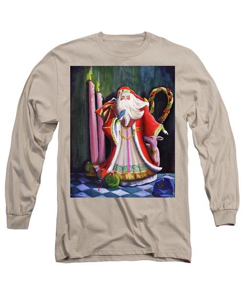 Christmas Pitcher  Long Sleeve T-Shirt