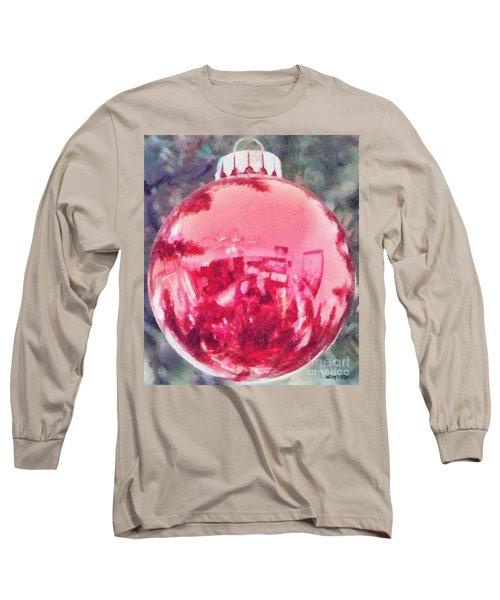 Christmas Reflected Long Sleeve T-Shirt
