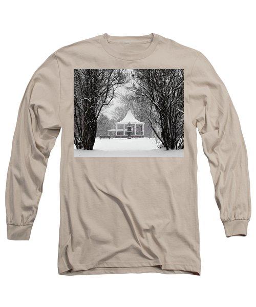 Christmas Season In The Park Long Sleeve T-Shirt