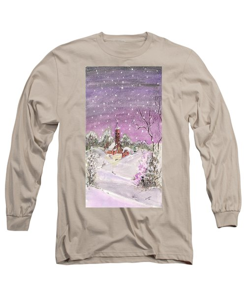 Church In The Snow Long Sleeve T-Shirt