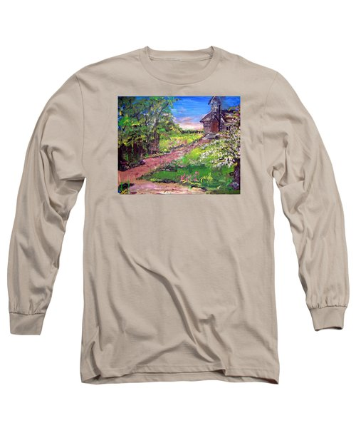 Church In The Woods Long Sleeve T-Shirt