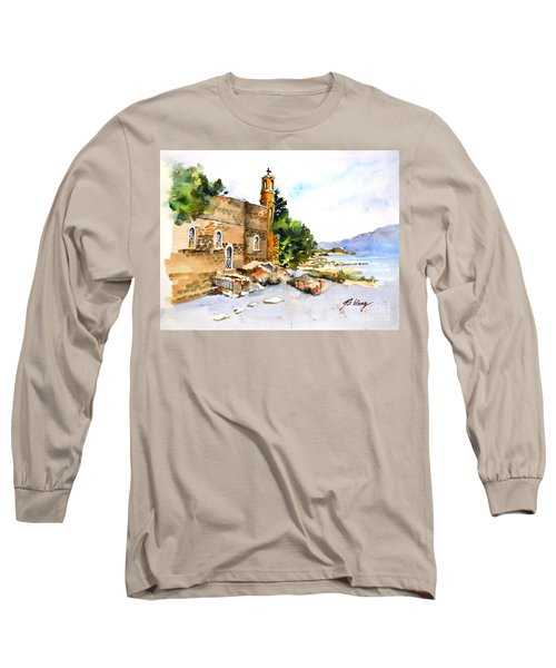 Church Of Primacy, Galilee Long Sleeve T-Shirt