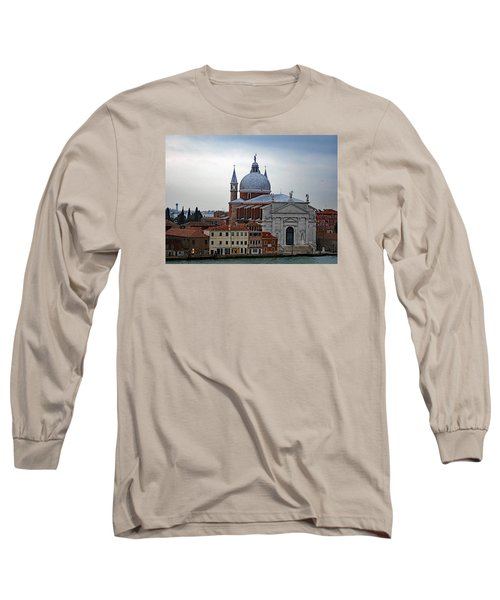 Church Of The Santissimo Redentore On Giudecca Island In Venice Italy Long Sleeve T-Shirt