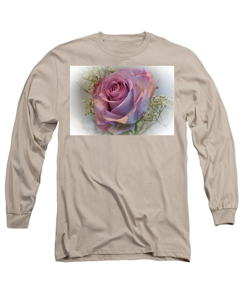 Cindy's Rose Long Sleeve T-Shirt by Judy Johnson