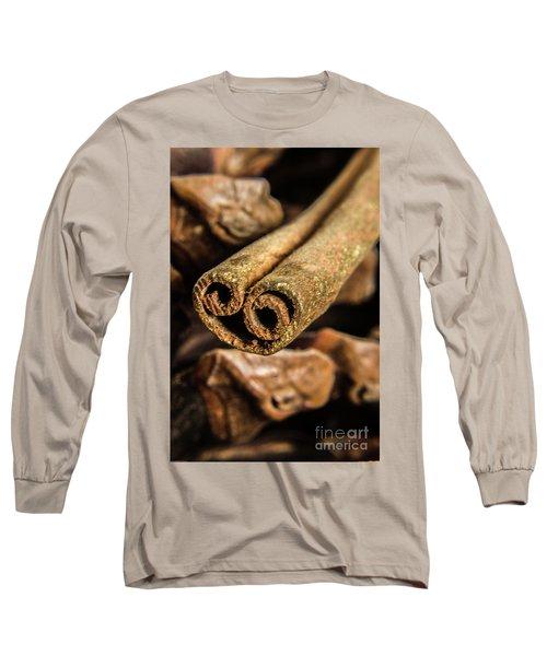 Cinnamon Heart Long Sleeve T-Shirt