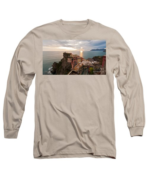 Cinque Terre Tranquility Long Sleeve T-Shirt